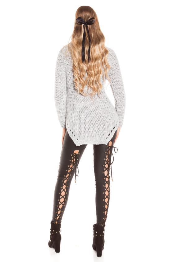 Juodos spalvos suknelė PU3994S
