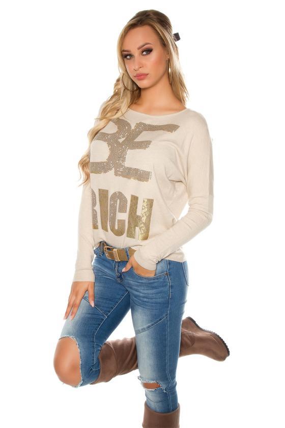 Raudonos spalvos suknelė su grandinėlėmis_155869