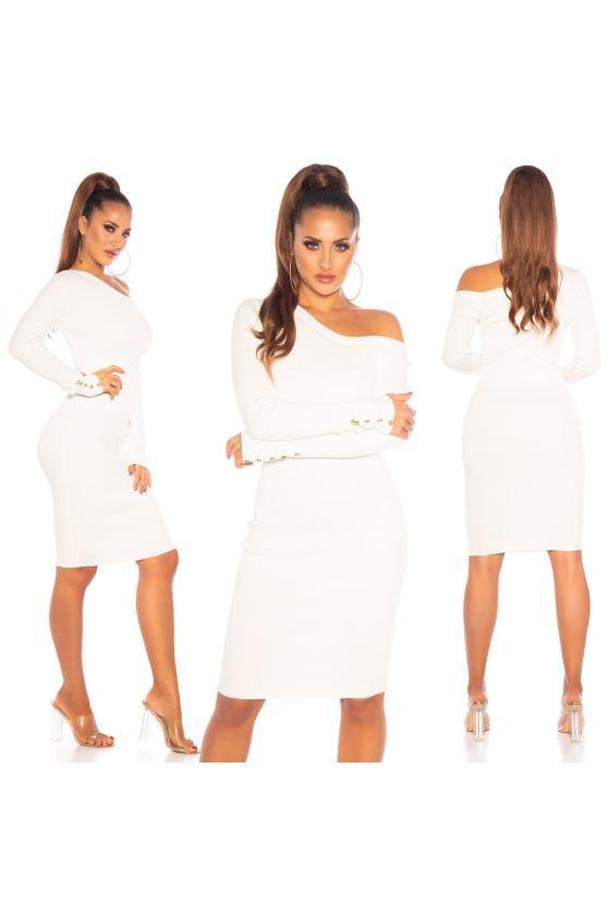 Juodos spalvos suknelė su grandinėlėmis_155875