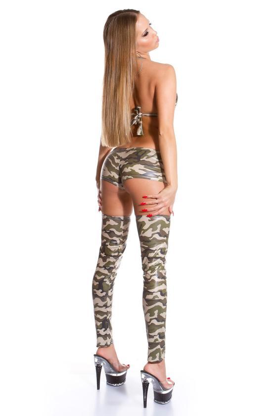 Sidabro spalvos blizgi suknelė dekoruota tiuliu_155879