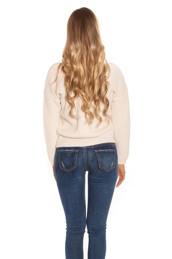 Kapučino spalvos blizgi suknelė dekoruota tiuliu