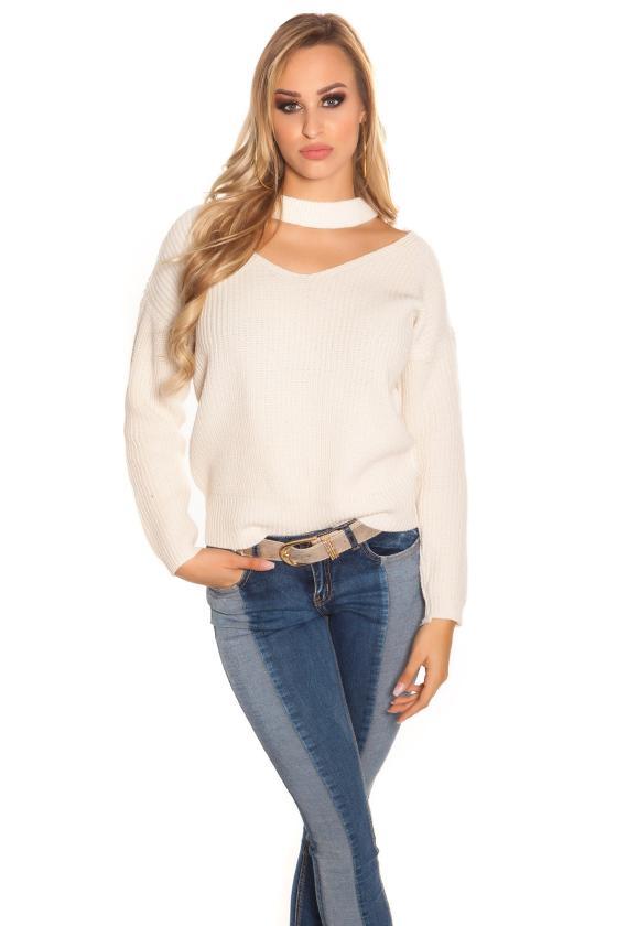 Smėlio spalvos gipiūrinė suknelė IN50242