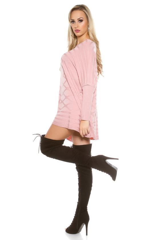Smėlio spalvos gipiūrinė suknelė IN50242_155928