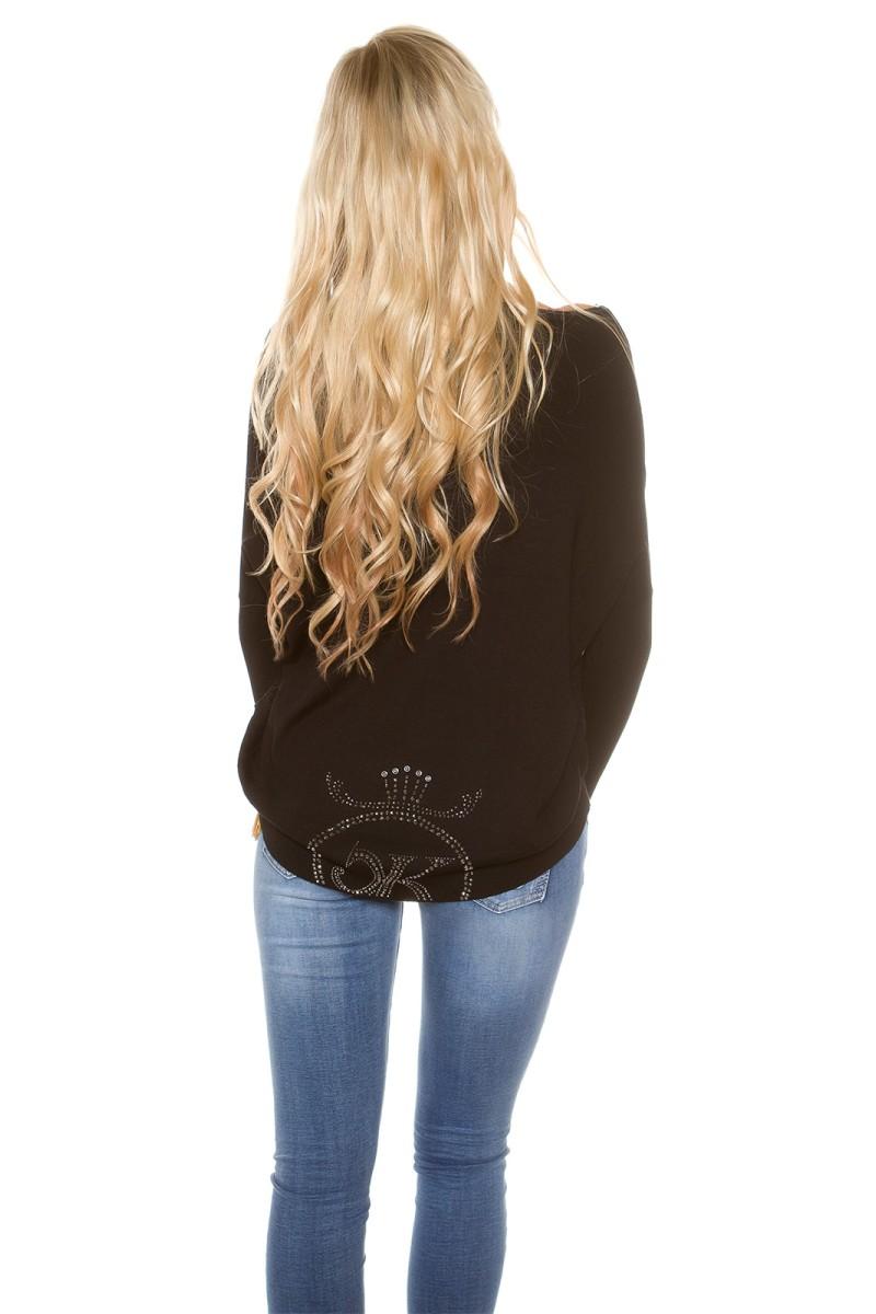 Koralų spalvos gipiūrinė suknelė IN50242_155933