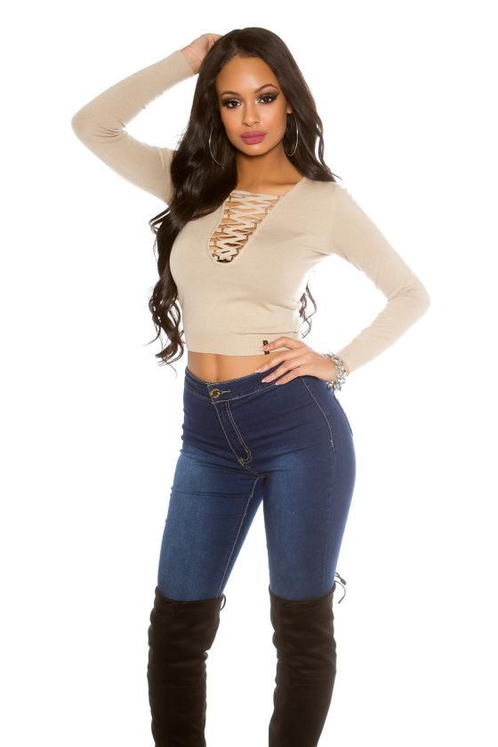 Raudonos spalvos satino imitacijos suknelė_155952