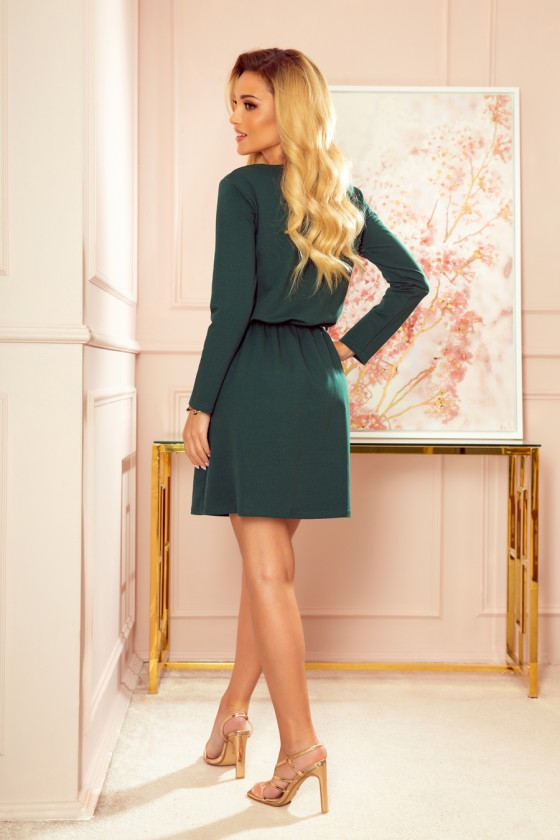 "Žalios spalvos suknelė "" Nancy""_156393"