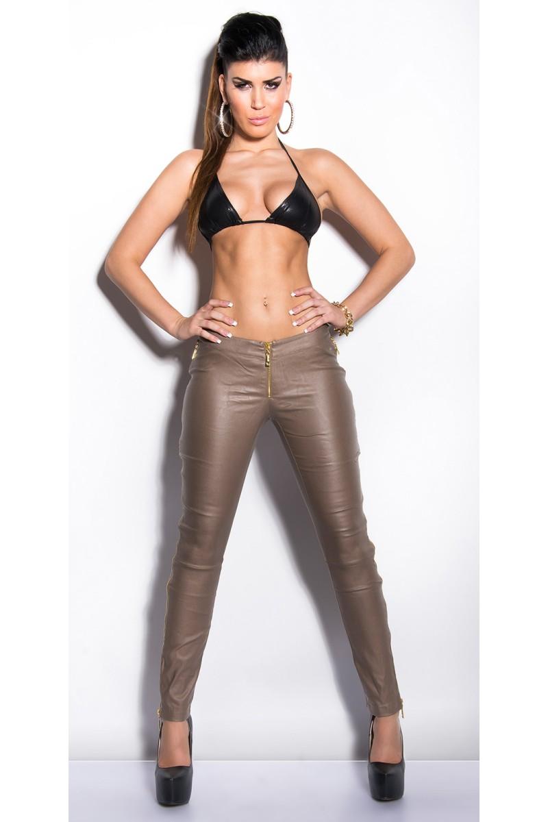 Aukso spalvos kelnės IN50583