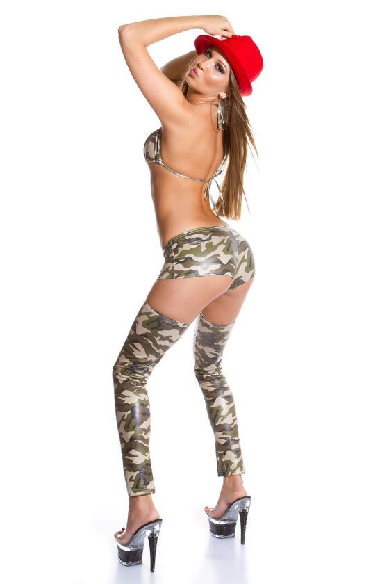 Rausvos spalvos veliūrinė suknelė CARMEN_156634