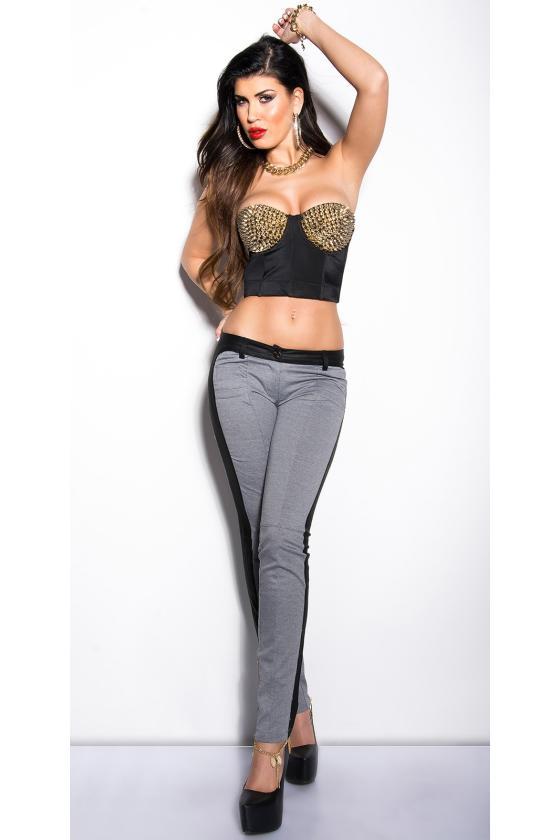 Kapučino spalvos ilgi marškiniai BROOKLYN1_156901