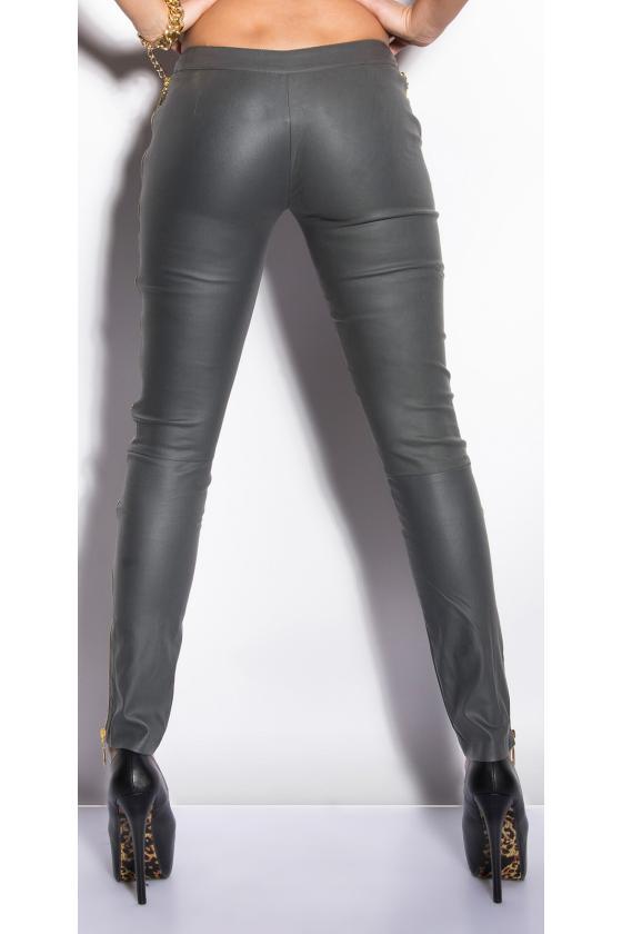 Juodos spalvos sportinės kelnės TRINITTY3_157010