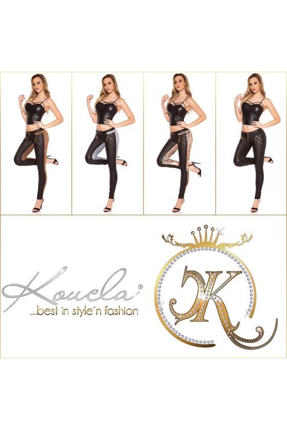 Juodos spalvos sportinės kelnės TRINITTY3_157012