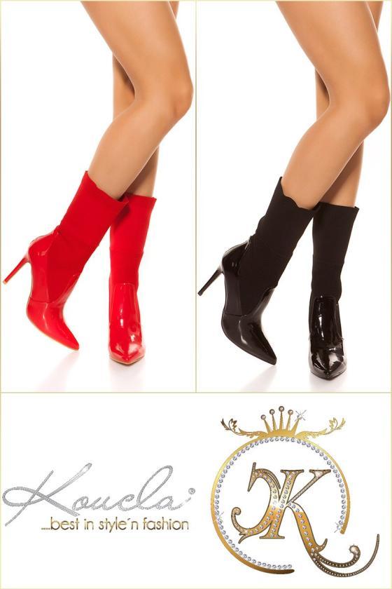 Raudonos spalvos suknelė 170-6_158704