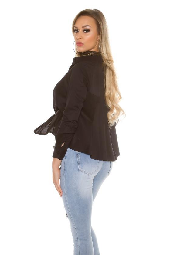 Tamsiai mėlynos spalvos suknelė 170-7
