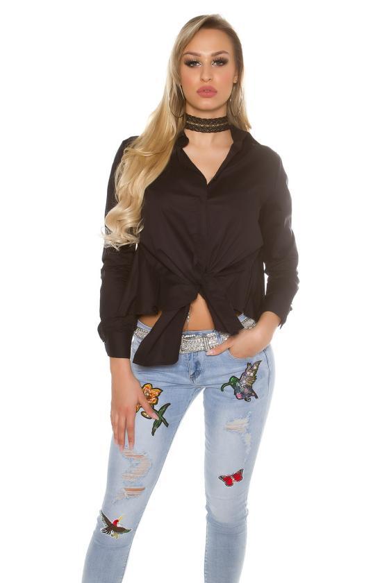 Tamsiai mėlynos spalvos suknelė 170-7_158712