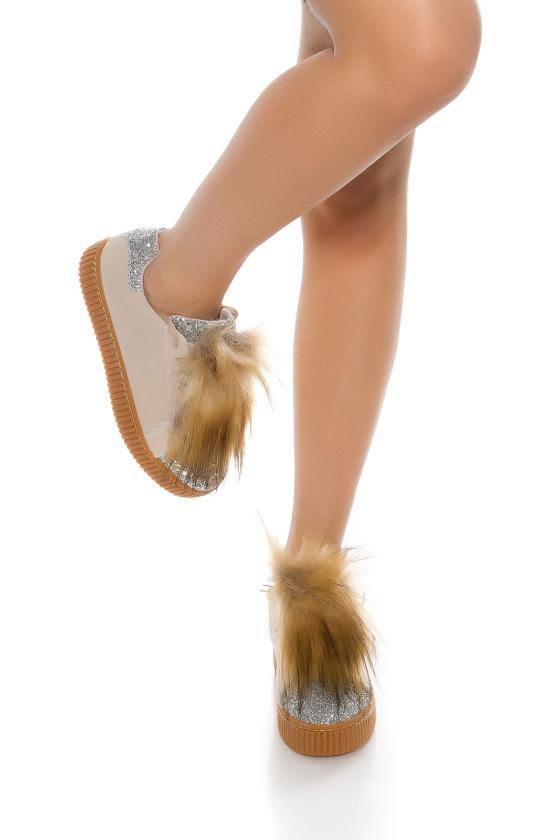 Bordinės spalvos suknelė CARMEN_158734