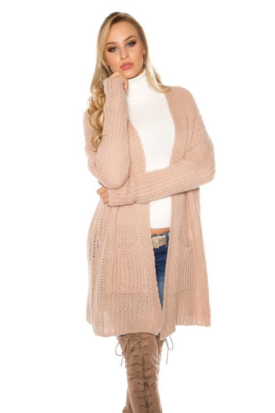 Rausvos spalvos peplum suknelė_158773