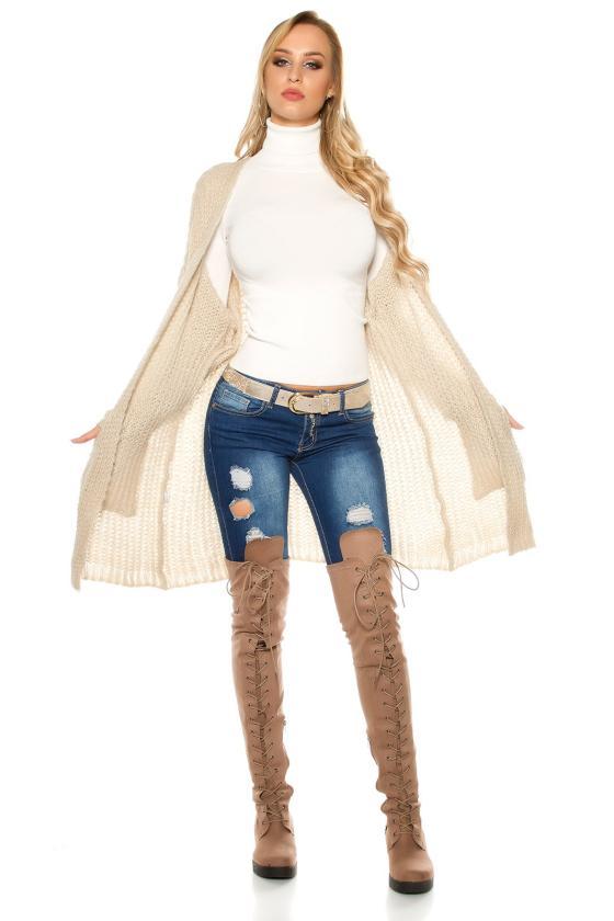 Raudona eko zomšos peplum suknelė_158809