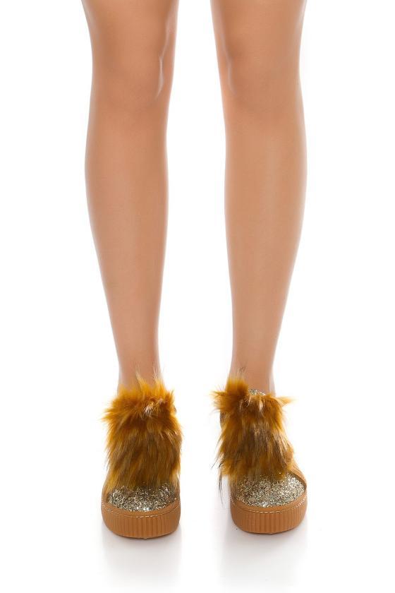 Žalia eko zomšos peplum suknelė