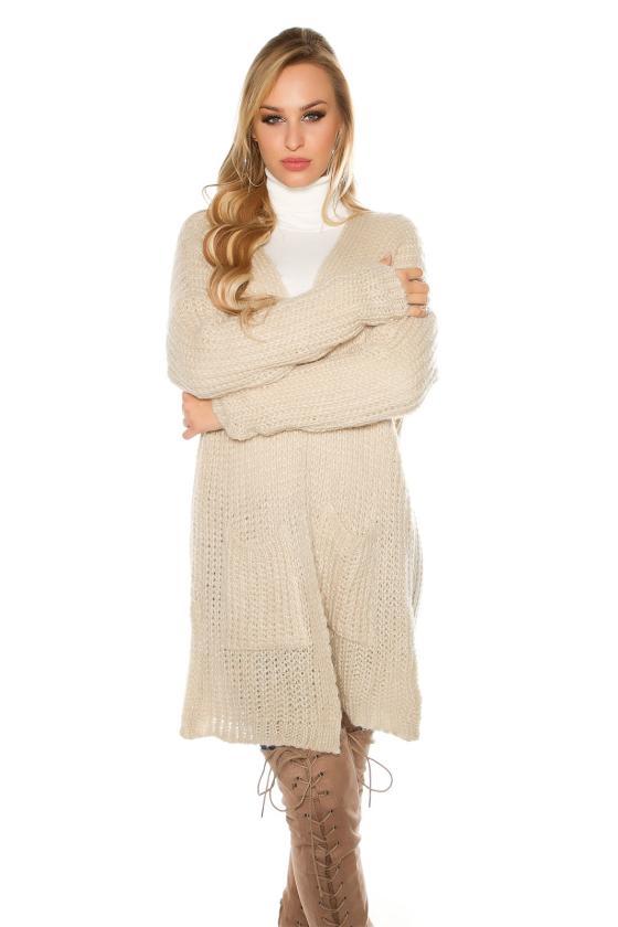 """Leopardo rašto suknelė su raukiniai """"ROMI""""_158849"""
