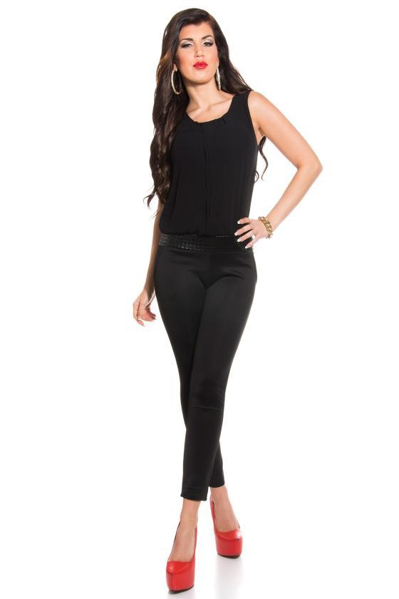 """Leopardo rašto suknelė su raukiniai """"ROMI""""_158850"""