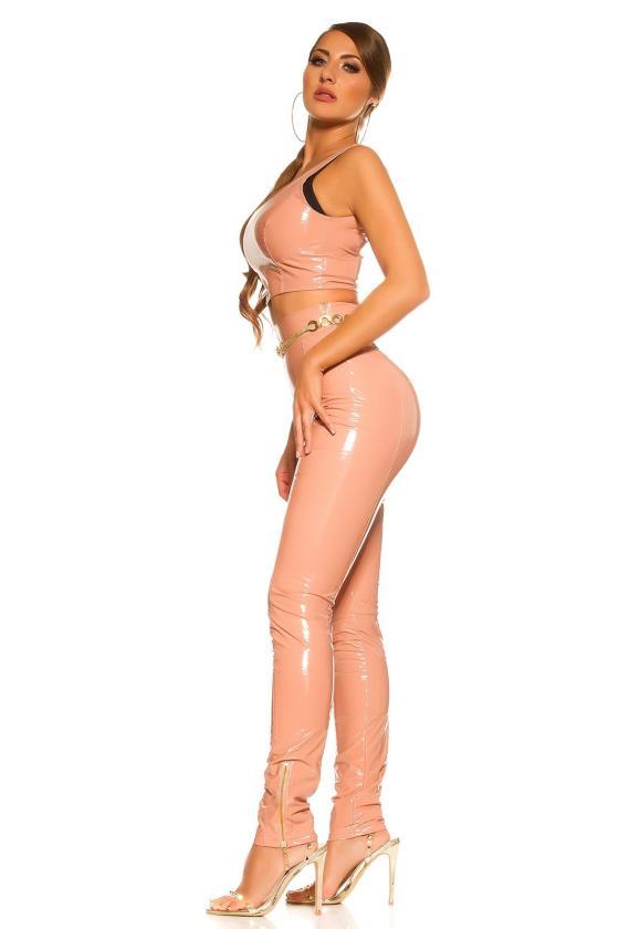 Mėlynos spalvos peplum suknelė_160766