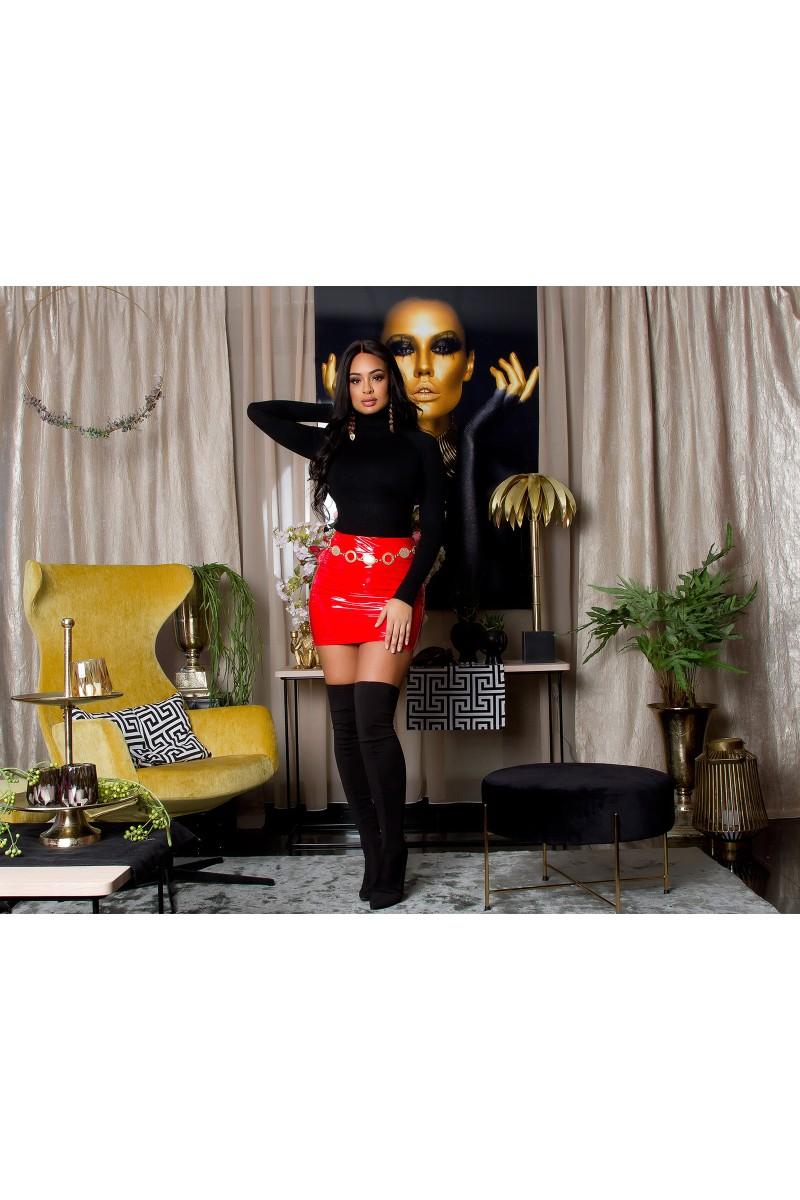 Mėlynos spalvos šifoninė suknelė LAUREN_165637