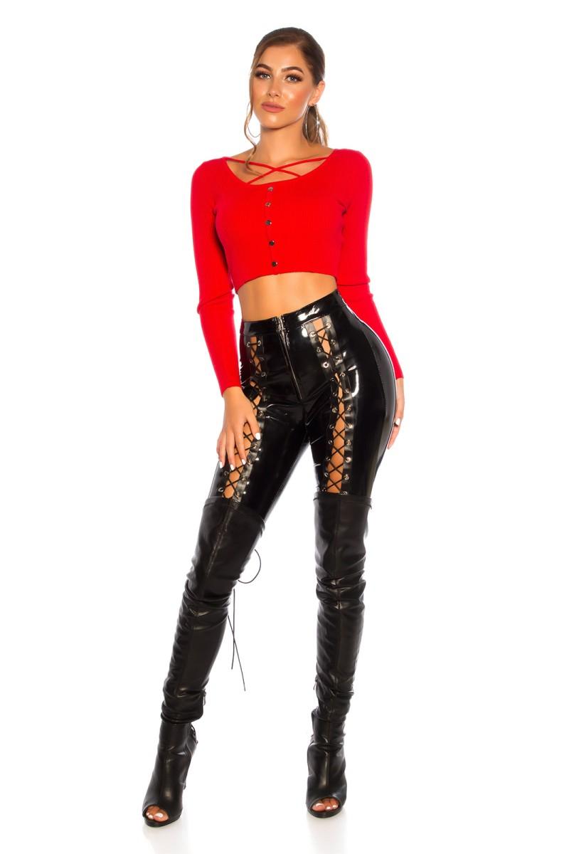 Mėlynos spalvos šifoninė suknelė LAUREN