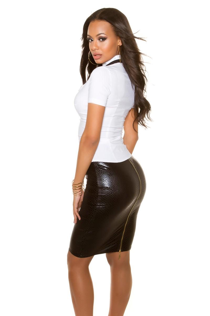 Mėlynos spalvos šifoninė suknelė LAUREN_165639