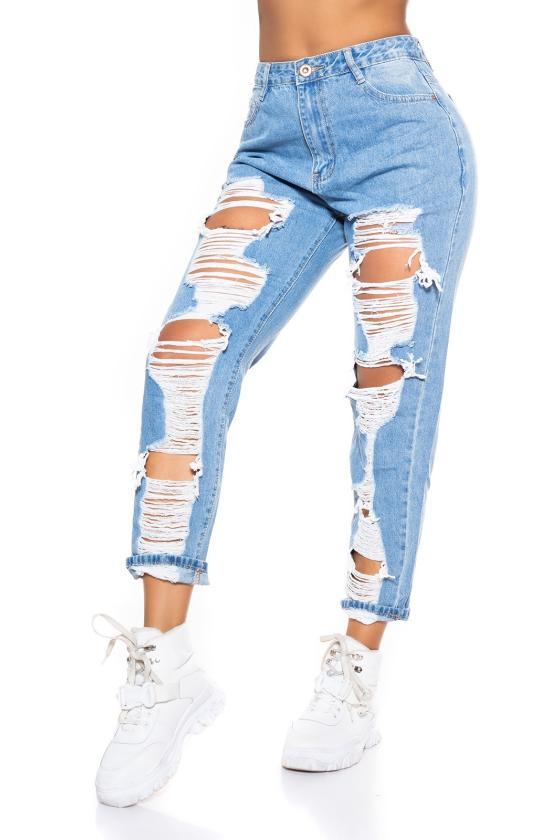 Mėlynos spalvos šifoninė suknelė LAUREN_165640