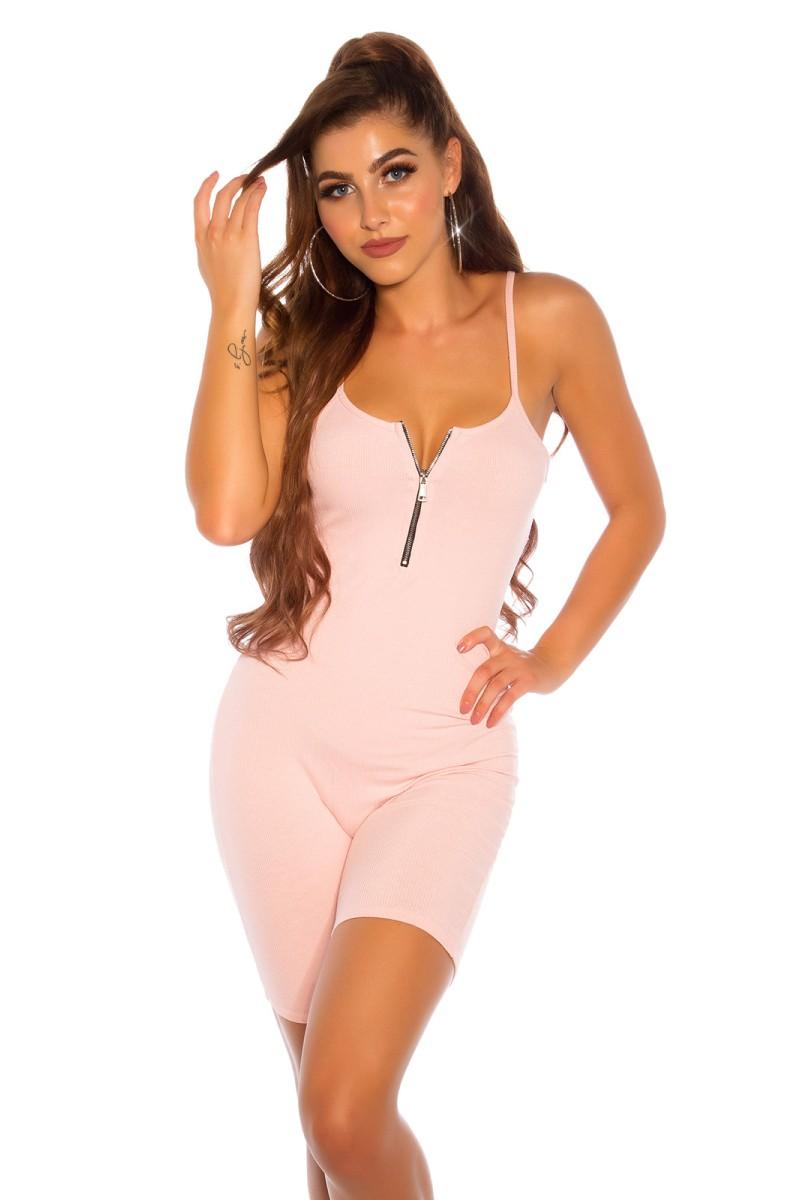 Raudonos spalvos šifoninė suknelė 332-2_165649