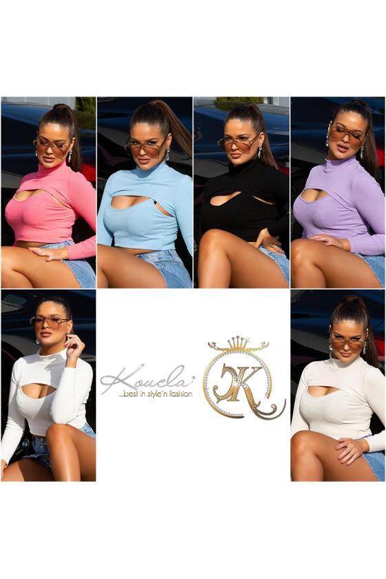 Rausvos spalvos suknelė 66047