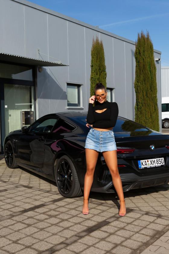 Juodos spalvos mini suknelė_165858