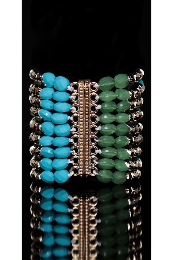 Rausvos spalvos midi ilgio suknelė_166106