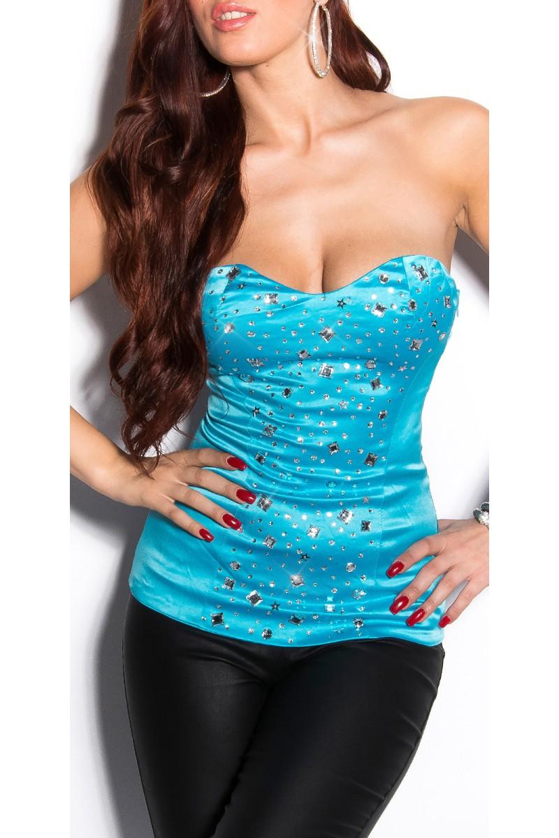 Žalios spalvos šifoninė suknelė LAUREN_166703