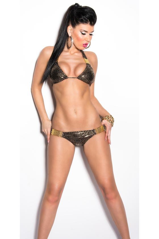 Šlapio efekto violetinės spalvos termo leginsai