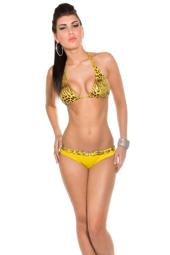 Juodos spalvos šlapio efekto sijonas