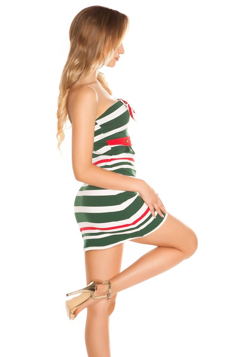 Efektinga aukso spalvos suknelė_168631