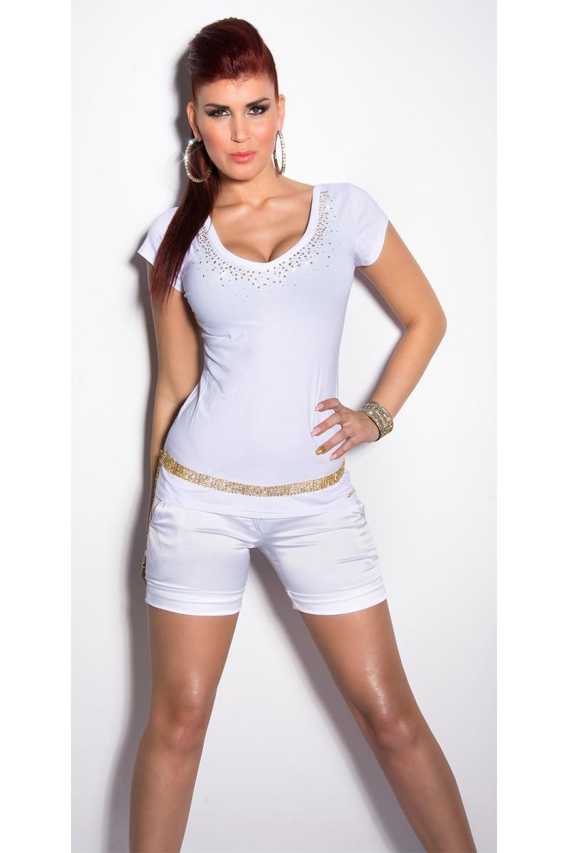 Efektinga aukso spalvos suknelė