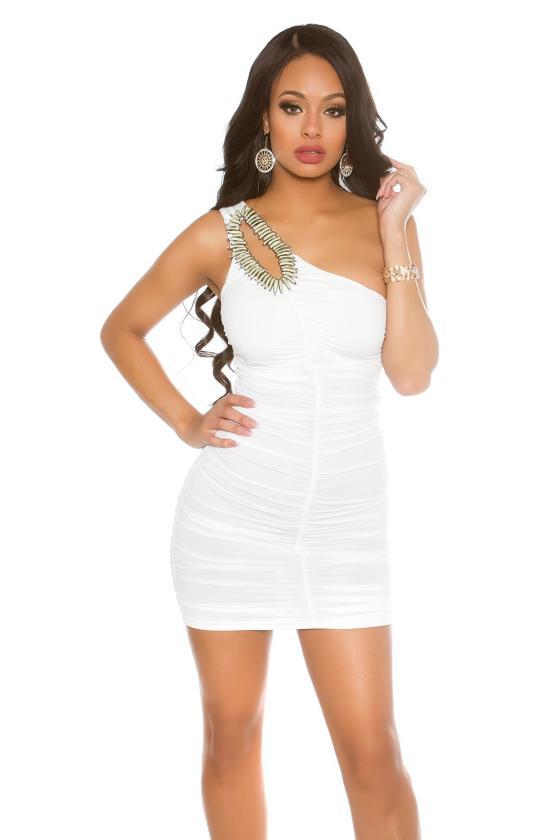 Įspūdinga aukso spalvos suknelė_168639