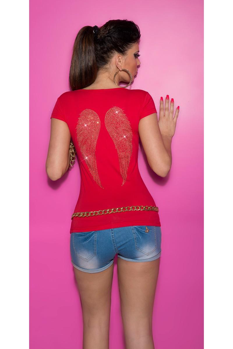 Ilga raudona vakarinė suknelė_168702