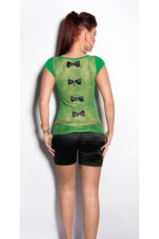 Rausvos spalvos blizgi suknelė_168727