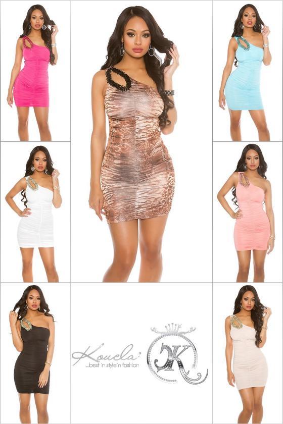 Žalios spalvos šifoninė suknelė_168795