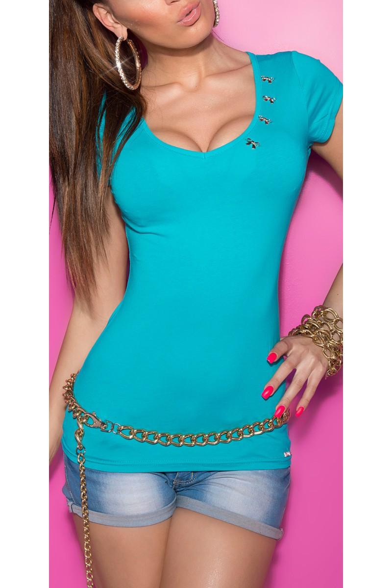 Tamsiai mėlynos spalvos satino imitacijos suknelė_169134