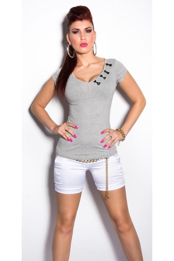 Šilta džinsų spalvos tunika su gobtuvu_169615