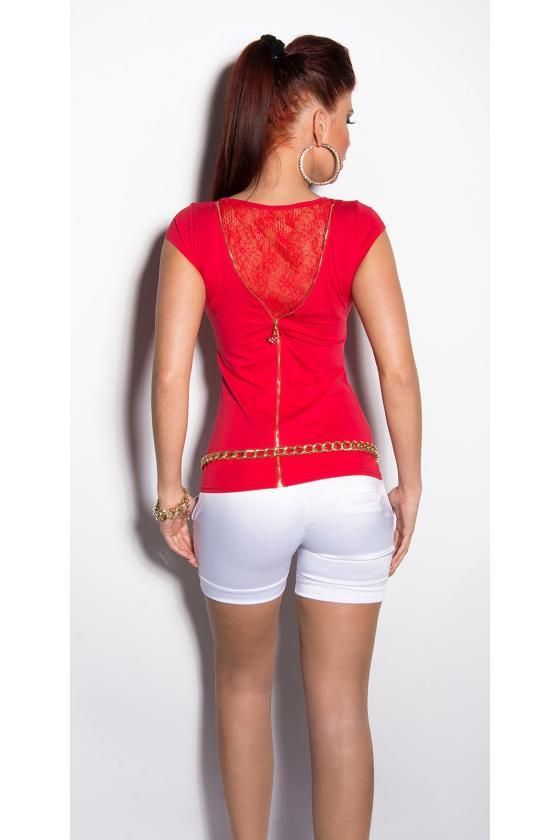 Šilta violetinės spalvos tunika su gobtuvu_169621