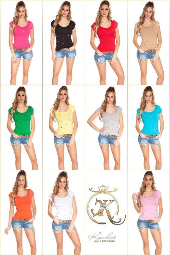 Indigo spalvos laisvalaikio suknelė su diželiu_170365