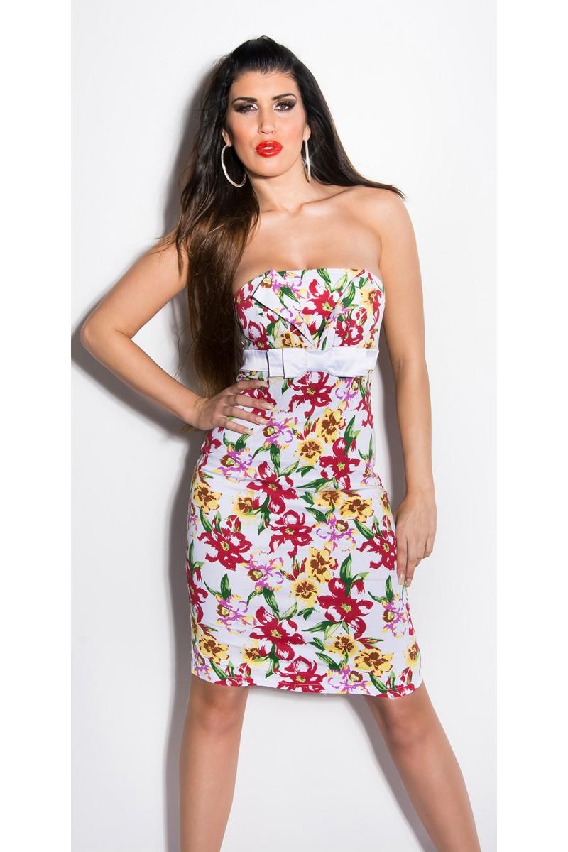 Elegantiška juoda vidutinio ilgio suknelė_170385