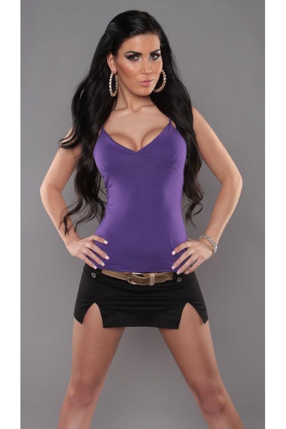 Pilkos spalvos Carmen stiliaus suknelė