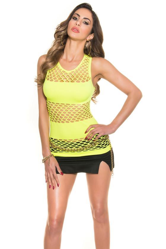 Juodos spalvos megzta suknelė su dirželiu_171134