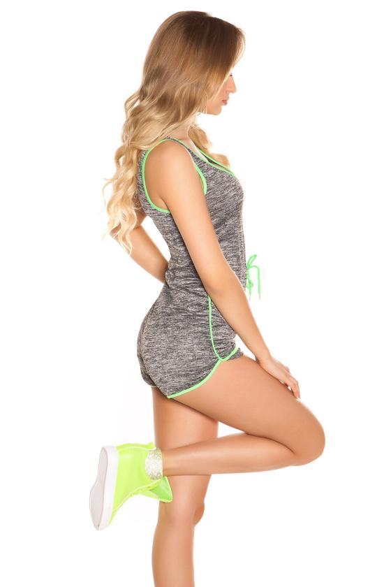 Juodas mini sijonas su sagutėmis_171153